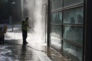 commercial power washing in Vancouver