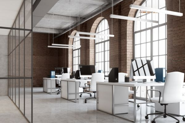 A clean and comfortable office is cleaned by professional office cleaning company