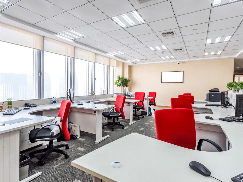 our cleaning professional clean your office and make it dirt free