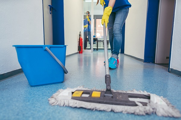 Flooring cleaning is one of the commercial office cleaning service we provide for business in Vancouver