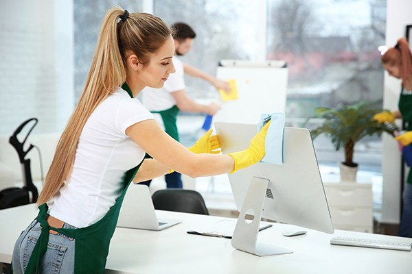 We are Vancouver top office cleaning company that help you sanitize your whole office table and washroom